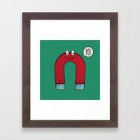 Yo Magnets Framed Art Print