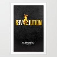 Hunger Games - Revolutio… Art Print