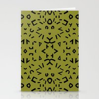 alphabet Stationery Cards featuring Alphabet by Chelsea Densmore