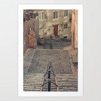 Alfama, Lisbon. Art Print