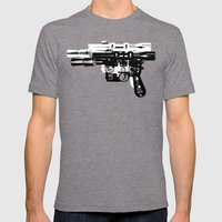 Blaster II Mens Fitted Tee Tri-Grey SMALL