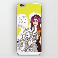 barf! iPhone & iPod Skin