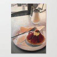 The Tart Canvas Print