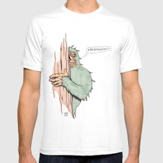 Bigfoote SMALL Mens Fitted Tee White