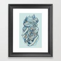 Life & Love at Sea Framed Art Print