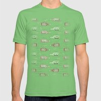 Salad Daze (Variant) Mens Fitted Tee Grass SMALL