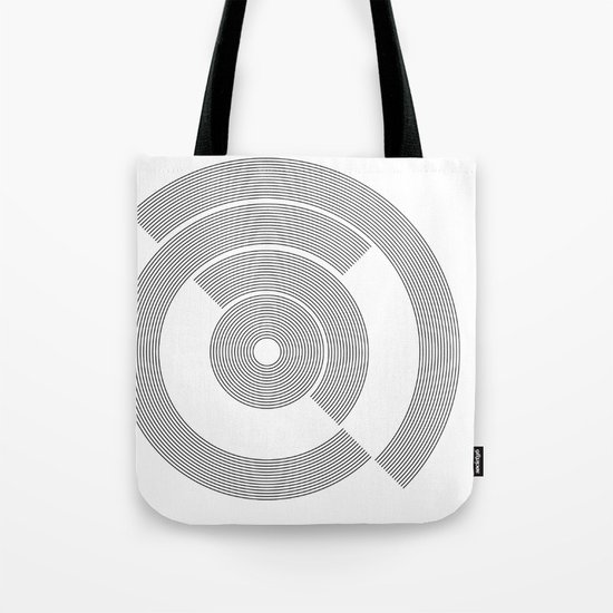 circle pattern 01 Tote Bag