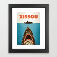 Zissou Framed Art Print