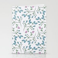 Rosebuds Stationery Cards