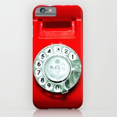 OLD PHONE - RED EDITION - for iphone iPhone 6 Slim Case