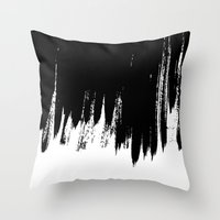 HIGH CONTRAST Throw Pillow