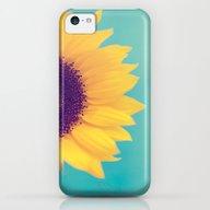Sunflower iPhone 5c Slim Case