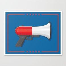Chump Gun Canvas Print