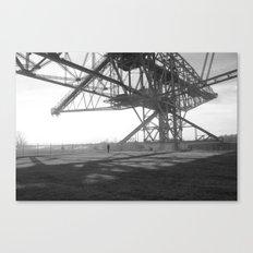 Coal Mine Canvas Print