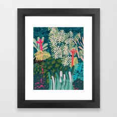 The Giraffes Framed Art Print