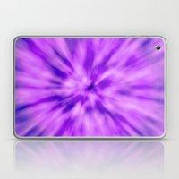 PURPLE TIE DYE Laptop & iPad Skin