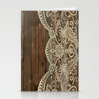 WOOD & LACE Stationery Cards