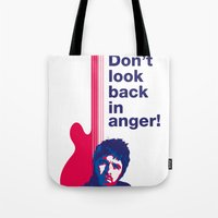 Noel Gallagher - Don't Look Back In Anger 02 Tote Bag