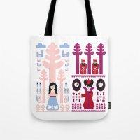 Good Vs Evil: Snow White… Tote Bag