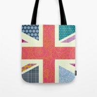 UK Beauty flag Tote Bag