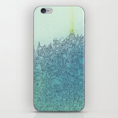 A Quiet Raft iPhone & iPod Skin