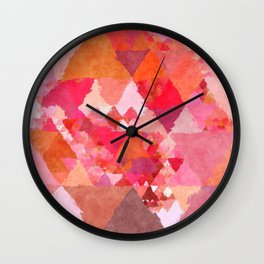 Wall Clock - Into the heat - Triangles - Better HOME