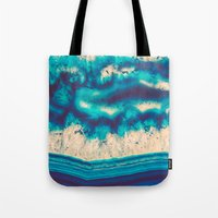 Blue Agate Water Element… Tote Bag