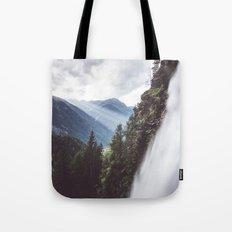 Behind Stuibenfall Tote Bag