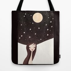 night hat Tote Bag