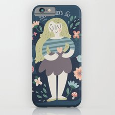 Mother's Day Lady In Nature Design iPhone 6 Slim Case