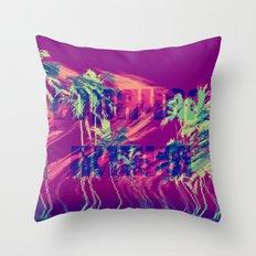 Горячая линия Throw Pillow