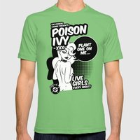 Ladies of DC - Poison Ivy Mens Fitted Tee Grass SMALL