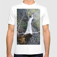 The Rot From Within Mens Fitted Tee White SMALL