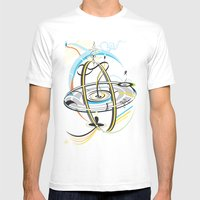 Go Around Come Around 'Refixed Bridges'  Mens Fitted Tee White SMALL