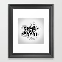 Made In Japan Framed Art Print
