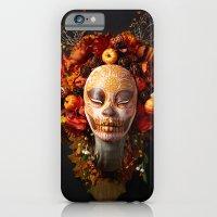 Pumpkin Harvest Muertita iPhone 6 Slim Case