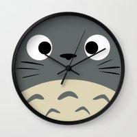 Curiously Troll ~ My Nei… Wall Clock