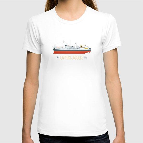 Captain Jacques' Boat T-shirt