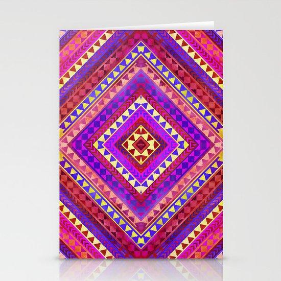 Rhythm III Stationery Card