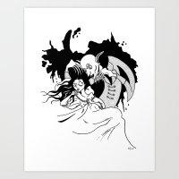 Nosferatu The Vampire Art Print
