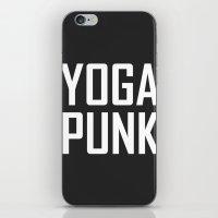 yoga punk iPhone & iPod Skin