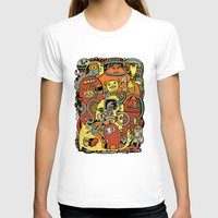 Warm In Womens Fitted Tee White SMALL