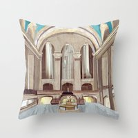 GCT Throw Pillow