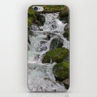 Cascades Below iPhone & iPod Skin
