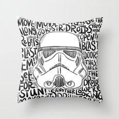 Look sir... Throw Pillow