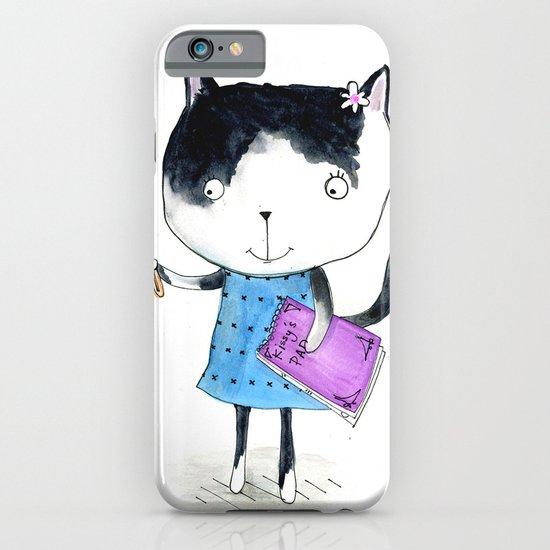 Creative Mono Cat  iPhone & iPod Case