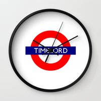 Timelord Wall Clock