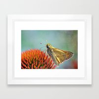 Wings of the Butterfly Framed Art Print
