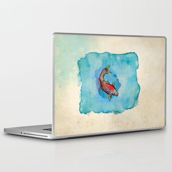 Small Fish. Small Pond. Laptop & iPad Skin