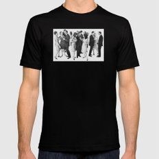 the cold war Mens Fitted Tee Black SMALL